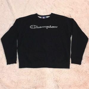 Champion 'POWERBLEND' Crew Neck Sweatshirt.